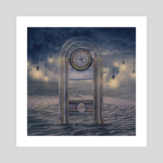 Guillotine clock by Jared Sandoval