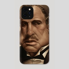 Don Vito Corleone - Phone Case by Rafael Rivera