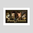 Fancy Animals - Art Print by Matt Ramsey