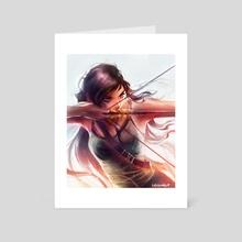Lara - Art Card by Lydia Elaine