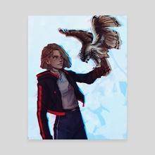 Rowan and Odo - Canvas by Roos Plattje