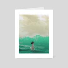 Bottle Green - Art Card by Ciel Bahena