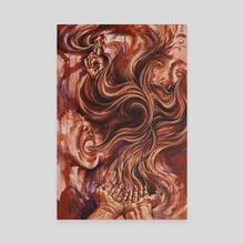 mutually assured destruction - Canvas by Jackie Liu