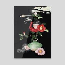 Within the stillness - Acrylic by Phuong Nguyen