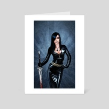Deadly Weapon - Art Card by Vitalii Smyk