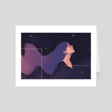 flow - Art Card by gus attab
