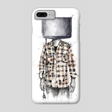 Unplugged - Phone Case by Balazs Solti