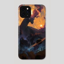 The Cosmic Dragon - Phone Case by Ondřej Hrdina