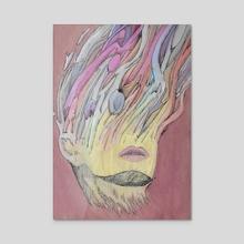 Sleep - Acrylic by Yerg