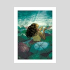 Summer Rains - Art Print by Naomi Franquiz