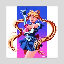 Sailor Moon - Canvas by Ryan Barr