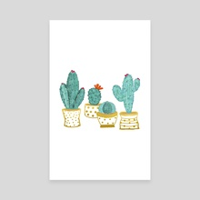 Cactus Garden II - Canvas by 83 Oranges