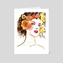 Demeter - Art Card by Gina Schiappacasse