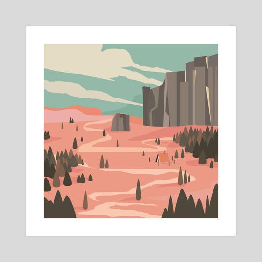 The Desert by Nana The Artblocked