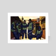 Section Ninjaz - Art Card by Kiing Arthur