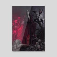 Necromancy - Acrylic by Ana Guimarães