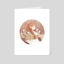 Nalia - Art Card by Vanessa Gillings