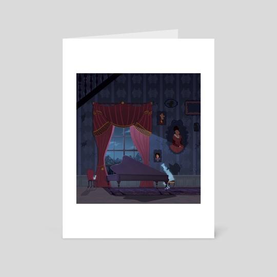 Haunted Mansion by Evan Csulik