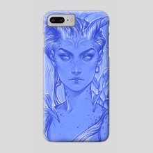Horned - Phone Case by Maria Dimova