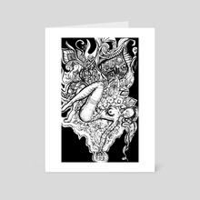 Release - Art Card by Tashina Three Sticks