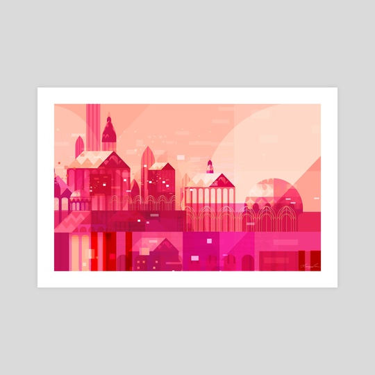 Pink City by Tracy Lee
