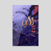 Renegades - Acrylic by Justyna Babinska