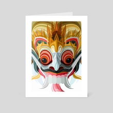 Barong - Art Card by Edward Christianto