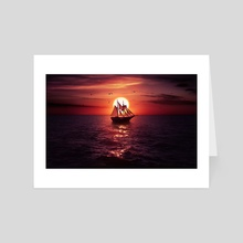 Sea of Thieves - Art Card by Ryan Laing