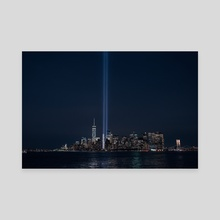 9/11 memorial - Canvas by Anthony Retournard