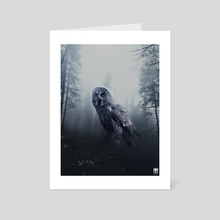 Midnight Prowler. - Art Card by Parag Phadnis
