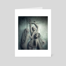 Tristesse - Art Card by Daria Endresen
