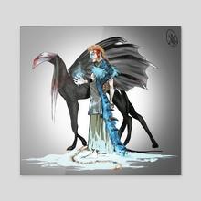 Viking - Acrylic by -M-