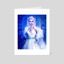 Elsa, Frozen - Art Card by Joe Roberts