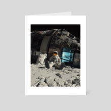 1969 Astronaut  - Art Card by Suvam