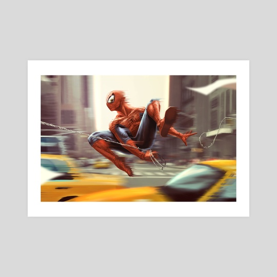 Spider-man by Tom Velez