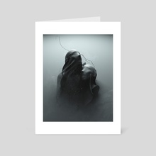 Ghosty. - Art Card by Mikko Raima