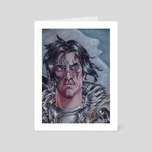 Varian Wrynn - Art Card by Elin Lewis