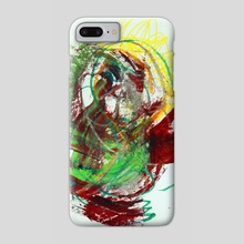 painting-14 - Phone Case by wudufu