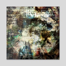 Achieve beauty - Acrylic by Bruce Rolff
