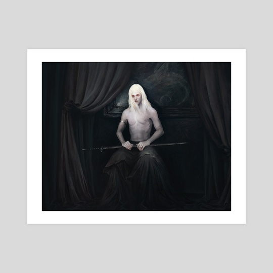 Elric of Melnibone by Maéna Paillet