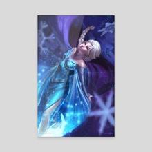 Elsa - Acrylic by Will Rascoe