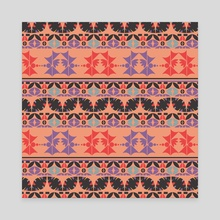 Ethnic pattern 27 - Canvas by Luiza Kozich
