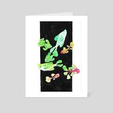 lettuce fish - Art Card by doobashmurp
