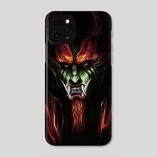 Aku - Phone Case by John Trinh