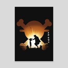 One Piece - Romance Dawn - Canvas by Geck Visual Arts